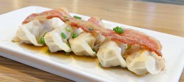 Pork gyoza Royalty Free Stock Photo