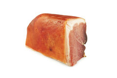 Pork ham. A piece of pork ham Stock Image