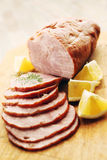 Pork ham Stock Photos