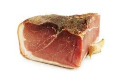 Pork ham and garlic Stock Image