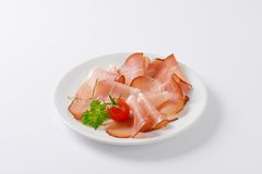 Pork ham Stock Photo