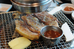 Pork, Jeju Island Black pig Stock Photography