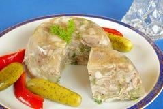 Pork jelly Royalty Free Stock Photo