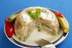 Pork jelly Royalty Free Stock Image