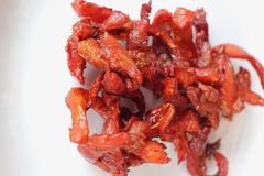 Pork jerky Stock Image