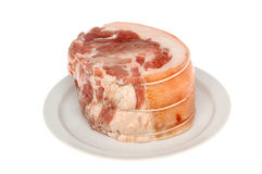 Pork joint royalty free stock photo