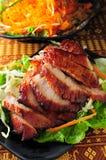 Pork Jowl. Thai cuisine Pork Jowl meat stock photos