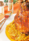 Pork knuckle Stock Image