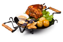 Pork knuckle Royalty Free Stock Photography