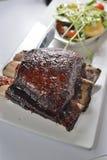 Pork knuckle. Soy sauce grill pork Knuckle meat Stock Photo