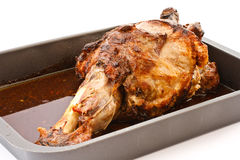 Pork leg roast Royalty Free Stock Images