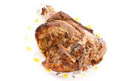 Pork leg roast Stock Photo