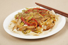 Pork Lo Mein Stock Photos