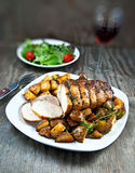 Pork loin royalty free stock photography