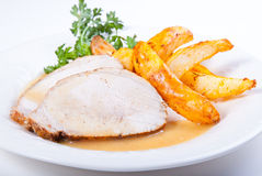 Pork loin Royalty Free Stock Images