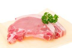 Pork loin chops Royalty Free Stock Photos