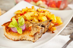 Pork loin roast Royalty Free Stock Photos