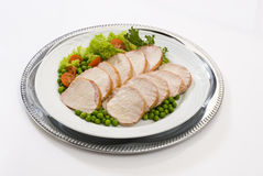 Pork loin roast Royalty Free Stock Photo