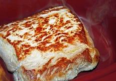 Pork Loin Roast in Slow Cooker Stock Image