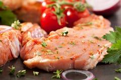 Pork Loin Steak Royalty Free Stock Image