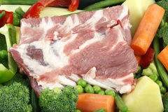 Pork meat Royalty Free Stock Photo