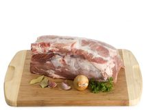 Pork meat stock image