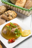 Pork meat in aspic Royalty Free Stock Photography