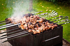 Pork Meat Barbecue Royalty Free Stock Photo
