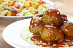 Pork meatballs Royalty Free Stock Photos
