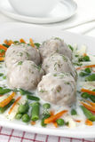 Pork meatballs Stock Photo