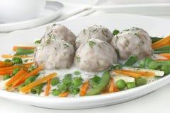 Pork meatballs Royalty Free Stock Photography