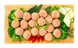 Pork meatballs Stock Photos