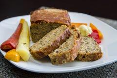 Pork Meatloaf Stock Image