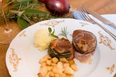 Pork medallion Stock Image