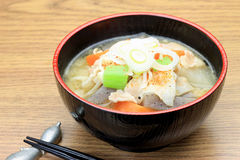 Pork miso soup Royalty Free Stock Photography