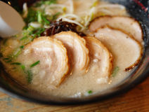 Pork with noodle royalty free stock photos