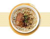 Pork noodles Royalty Free Stock Image