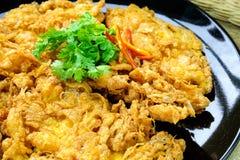 Pork omelet Stock Images