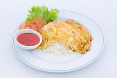 Pork omelet Royalty Free Stock Image