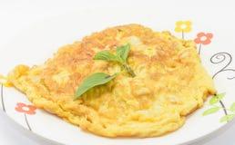 Pork  omelette Royalty Free Stock Photography
