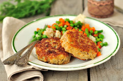 Pork Patties Stock Photos