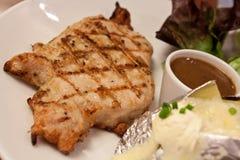 Pork pepper steak Stock Image