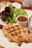Pork pepper steak Stock Images