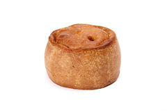 Pork pie. Royalty Free Stock Images