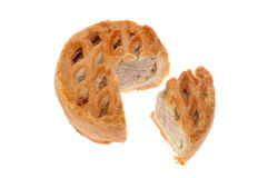 Pork pie Stock Photo