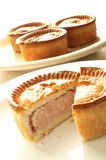 Pork pie Stock Photography