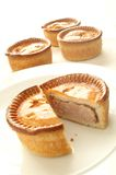 Pork pie Royalty Free Stock Photos