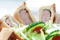 Pork pie Royalty Free Stock Images