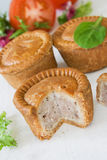 Pork Pies Stock Images