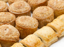 Pork pies Royalty Free Stock Photo